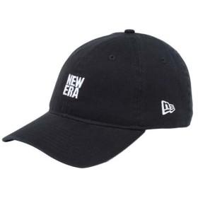 ニューエラ(NEW ERA) キャップ 9THIRTY スクエアロゴ 930 BASIC LOGO BIGNEMID ブラック×ホワイト 11899276 帽子 アクセサリー アウトドア 日除け