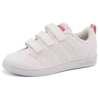 キッズ SALE!adidas(アディダス) VALCLEAN 2 CMF K(バルクリーン2CMFK) BB9978 ランニングホワイト/ランニングホワイト/スーパーピンク運動靴【ネット通販特別価格】 スニーカー ガールズ
