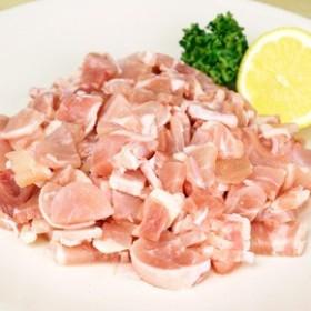 タヒコ)ブラジル鶏モモ小間500g 【同梱・北海道・沖縄不可】【送料無料】