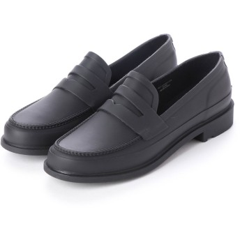 ハンター HUNTER MENS REFINED PENNY LOAFER (BLK)