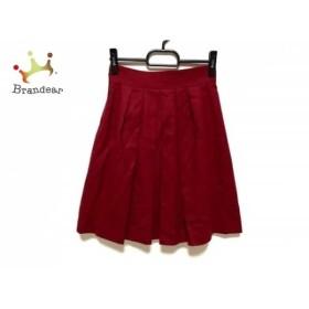 ジャスグリッティー JUSGLITTY スカート サイズ0 XS レディース 美品 ボルドー    値下げ 20191012