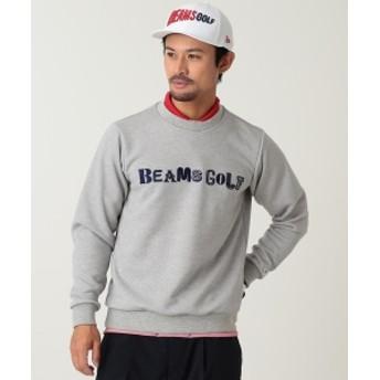 BEAMS GOLF ORANGE LABEL マルチ ロゴ スウェットシャツ メンズ