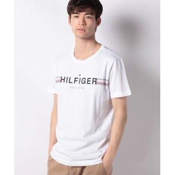 【30%OFF】 トミーヒルフィガー ロゴTシャツ ユニセックス ホワイト S 【TOMMY HILFIGER】 【セール開催中】