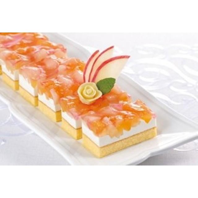 味の素)フリーカットケーキアップル&ピーチ520g【同梱・北海道・沖縄不可】【送料無料】