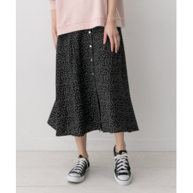 ROSSO(ロッソ) スカート スカート F by ROSSO ドット柄前ボタンスカート