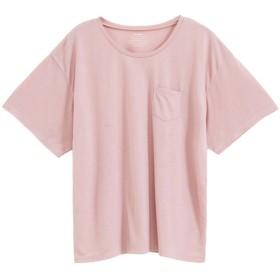 ユメテンボウ 夢展望 胸ポケットTシャツ (ダスティーピンク(クルーネック))