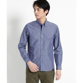 Dessin / デッサン 【洗える】ストライプボタンダウンシャツ