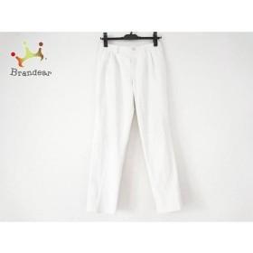 マッキントッシュフィロソフィー パンツ サイズ36 M レディース 白 ウエストゴム   スペシャル特価 20191015