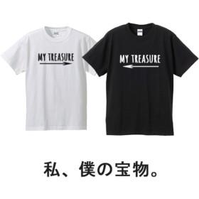 ネイティブ柄→カップルTシャツ2枚セット価格!離れていても繋がる 親子で着ても♪