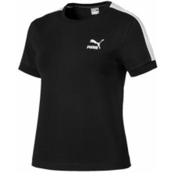 プーマ:【レディース】CLASSICS タイト ウィメンズ SS Tシャツ【PUMA カジュアル 半袖 シャツ アウトレット アパレルセール】
