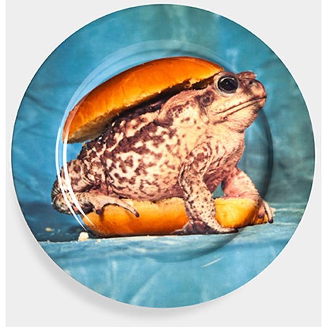 Maurizio Cattelan:プレート Toad