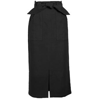 コウベレタス KOBE LETTUCE 動けるストレッチタイトスカート【ロング】(ブラック)