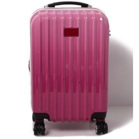 ベネトン(ユナイテッド カラーズ オブ ベネトン) ベネトンジッパー付きキャリーケース・スーツケース機内持込可容量約36LTSAロック レディース ピンク FREE 【BENETTON (UNITED COLORS OF BENETTON)】