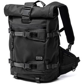 AS2OV AS2OV / アッソブ CORDURA DOBBY 305D ROLL BAG リュック・バッグパック,ブラック