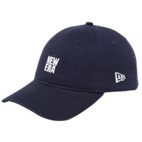 ニューエラ(NEW ERA) キャップ 9THIRTY スクエアロゴ 930 BASIC LOGO BIGNEMID ネイビー×ホワイト 11899275 帽子 アクセサリー アウトドア 日除け