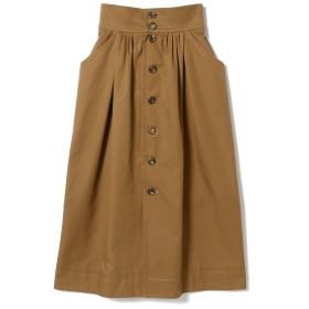 Lachement / フロントボタンスカート レディース その他スカート BROWN 38