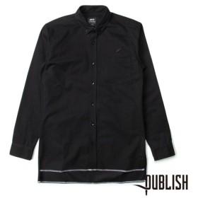 【Publish Brand/パブリッシュブランド】CEDAR 長袖シャツ/ BLACK