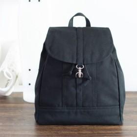 【送料無料】カジュアルバックパック(Lサイズ)【ブラック】A4サイズ対応