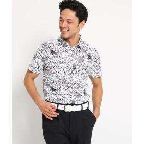 adabat(Men)(アダバット(メンズ)) 【吸水速乾】【UVカット】ハンドペイントタッチ半袖ポロシャツ メンズ