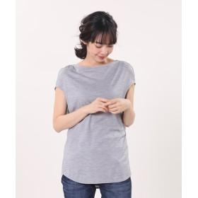 【PLST】PLST MOVE ドライポリエステルフレンチスリーブTシャツ