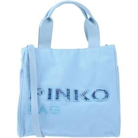 《期間限定セール開催中!》PINKO レディース ハンドバッグ スカイブルー ポリエステル 100% / ポリウレタン