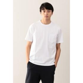 MACKINTOSH PHILOSOPHY 天竺 クルーネックポケT Tシャツ・カットソー,ホワイト