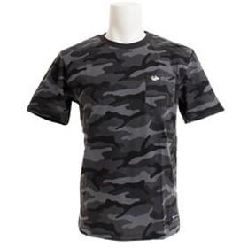 【Super Sports XEBIO & mall店:トップス】【オンライン特価】 32/2 CREW CAMO 半袖Tシャツ 863EK9HD9412 CGRY