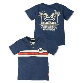 ZOOMIC(ズーミック)開き見せアップリケ半袖Tシャツ(男の子 子供服) Tシャツ・カットソー