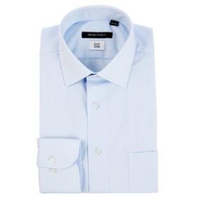 【THE SUIT COMPANY:トップス】ワイドカラードレスシャツ 無地〔EC・BASIC〕
