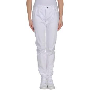 《セール開催中》LEROCK レディース パンツ ホワイト 31 コットン 96% / スパンデックス 4%