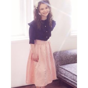 Maison de FLEUR Petite Robe パール付きスカート