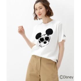 BASE STATION / ベースステーション 【WEB限定】 ミッキーマウス サングラス Tシャツ