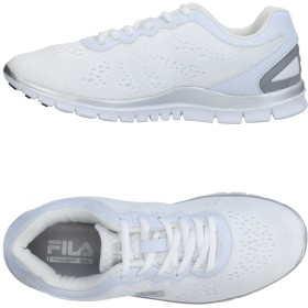《期間限定 セール開催中》FILA レディース スニーカー&テニスシューズ(ローカット) ホワイト 37 紡績繊維
