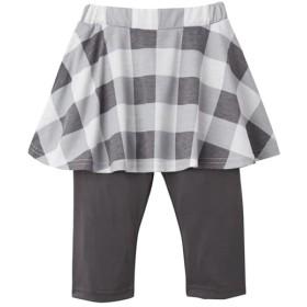 ポケット付6分丈スカッツ(女の子 子供服。ジュニア服) (スカート付パンツ)