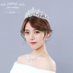 f77d71277ba7a クラウン 花嫁 結婚式 安い ウエディング ティアラ 演奏会 髪飾り パーティー 王冠 二次会 ヘアアクセサリー