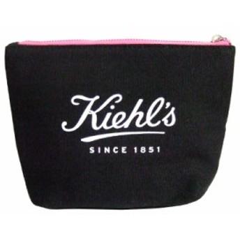 キールズ オリジナルポーチ コスメポーチ 化粧ポーチ #ブラック 黒 [ ノベルティ ] KIEHL'S
