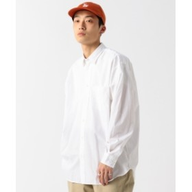 BEAMS / ブロード イージー ミニレギュラーシャツ メンズ カジュアルシャツ WHITE M