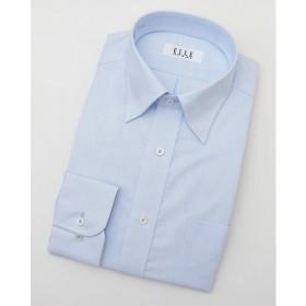 【SALE(三越)】<ELLE/エル> 長袖チェックワイシャツ(ZED384-650)(MO020N0MO00000FNW) 650サックス 【三越・伊勢丹/公式】