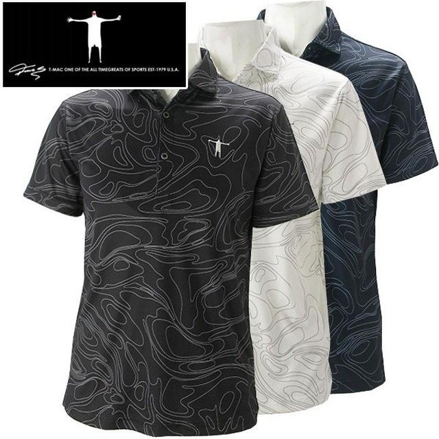 メール便対応 ティーマック メンズ ゴルフウェア 半袖ポロシャツ P10 T-MAC 春夏