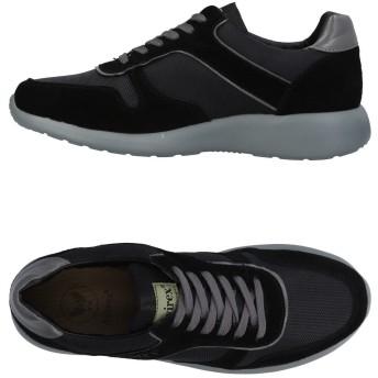 《セール開催中》AVIREX メンズ スニーカー&テニスシューズ(ローカット) ブラック 40 革 紡績繊維