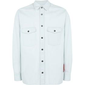 《期間限定セール開催中!》COVERT メンズ デニムシャツ ブルー 38 コットン 100%