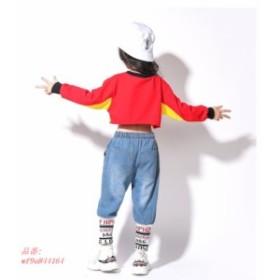 1点 キッズダンス衣装 キッズ ダンス衣装 ヒップホップ ダンス衣装 キッズ セットアップ 子供 ダンス 衣装 男の子 女の子 練習着 体操服