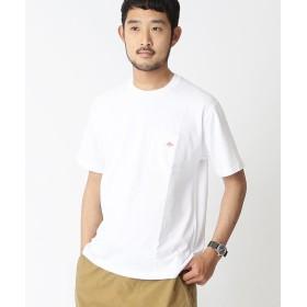 ビームス メン DANTON / ロゴ ポケット Tシャツ メンズ WHITE 36 【BEAMS MEN】