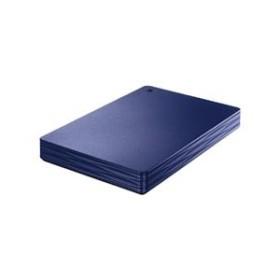 I/OデータUSB 3.0/2.0対応ポータブルハードディスク(500GB)カクうす Liteミレニアム群青HDPH-UT500NV