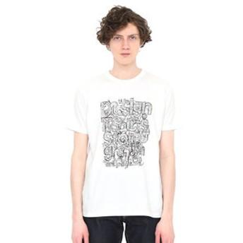 【グラニフ:トップス】グラニフ Tシャツ メンズ レディース 半袖 タテロゴ(マッティピックヤムサ)
