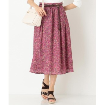any SiS エニィスィス Deveaux フラワープリント スカート
