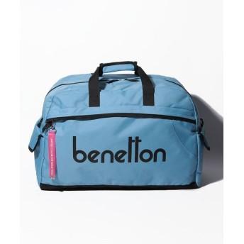 ベネトン(ユナイテッド カラーズ オブ ベネトン) ベネトンロゴボストンバッグ レディース サックスブルー FREE 【BENETTON (UNITED COLORS OF BENETTON)】