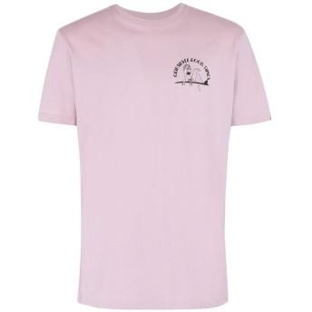 《期間限定セール開催中!》QUIKSILVER メンズ T シャツ ライトパープル S コットン 100% QS T-shirt Kid Atypical SS