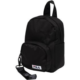 《期間限定セール開催中!》FILA HERITAGE Unisex バックパック&ヒップバッグ ブラック ポリエステル 100% VARBERG mini strap backpack