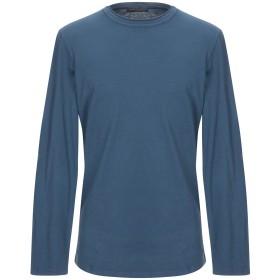 《期間限定 セール開催中》DANIELE FIESOLI メンズ T シャツ ブルー S コットン 100%